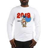 Monkey Graduation 2013 Long Sleeve T-Shirt