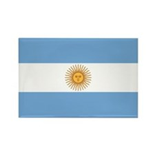 Flag of Argentina Rectangle Magnet
