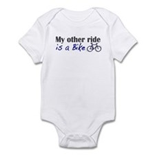 Other ride is a bike Infant Bodysuit