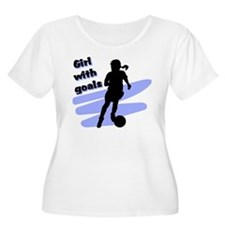Girl with goals T-Shirt