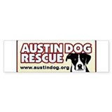 Austin Dog Bumper Bumper Stickers