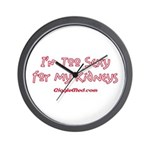 Too Funny Kidneys Wall Clock