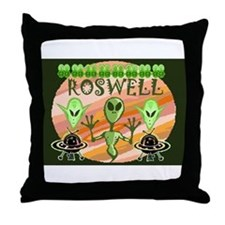 Unique Roswell Throw Pillow