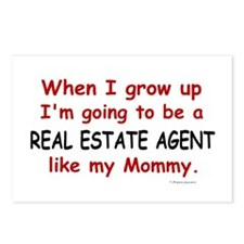 Real Estate Agent (Like My Mommy) Postcards (Packa