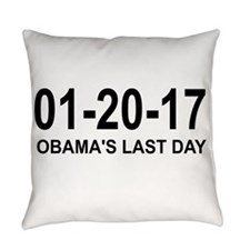 01-20-17 - OBAMA'S LAST DAY Everyday Pillow