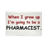 Pharmacist (When I Grow Up) Rectangle Magnet (10 p