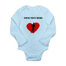 Cross Country Heart (Custom) Body Suit