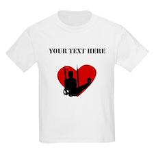 Gymnastics Heart (Custom) T-Shirt
