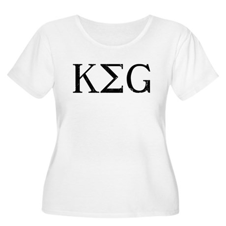 KEG Plus Size Scoop Neck Shirt