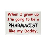 Pharmacist (Like My Daddy) Rectangle Magnet (100 p