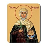 St. Brigid of Ireland Mousepad