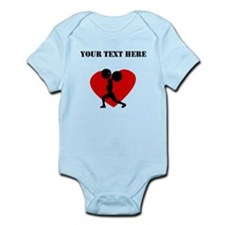 Weightlifting Heart (Custom) Body Suit