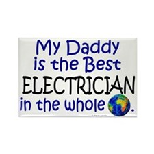 Best Electrician In The World (Daddy) Rectangle Ma