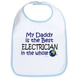 Best Electrician In The World (Daddy) Bib