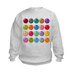 Bowling Ball Lot Kids Sweatshirt
