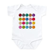 Bowling Ball Lot Infant Bodysuit