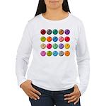 Bowling Ball Lot Women's Long Sleeve T-Shirt