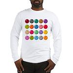 Bowling Ball Lot Long Sleeve T-Shirt