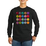 Bowling Ball Lot Long Sleeve Dark T-Shirt