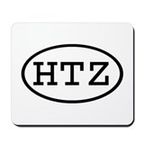 HTZ Oval Mousepad