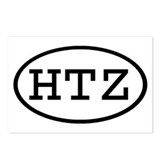 HTZ Oval Postcards (Package of 8)