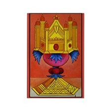 Le Coupe Tarot Card Magnet