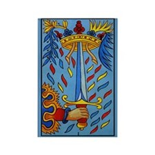 L'Epee Tarot Card Magnet