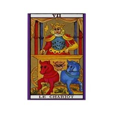 7. Le Chariot (Chariot) Tarot Card Magnet