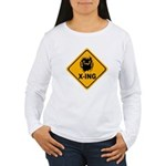 Eek! X-ing Women's Long Sleeve T-Shirt