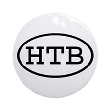 HTB Oval Ornament (Round)