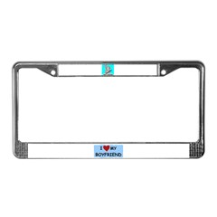 I HEARD IT'S YOUR BIRTHDAY License Plate Frame