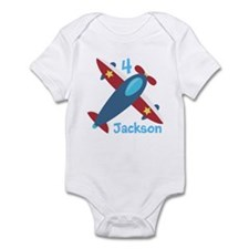 Airplane Birthday Infant Bodysuit