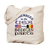 USA/Belgian Parts Tote Bag