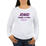 JCAHO Tracer 02 Women's Long Sleeve T-Shirt