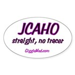 JCAHO Tracer 02 Oval Sticker