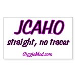 JCAHO Tracer 02 Rectangle Sticker