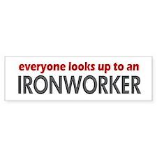 Ironworker Bumper Bumper Sticker