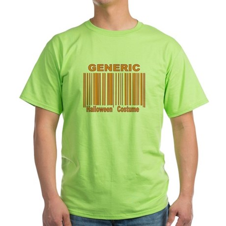 Generic Halloween Costume Green T-Shirt