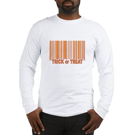 Barcode Trick or Treat Long Sleeve T-Shirt