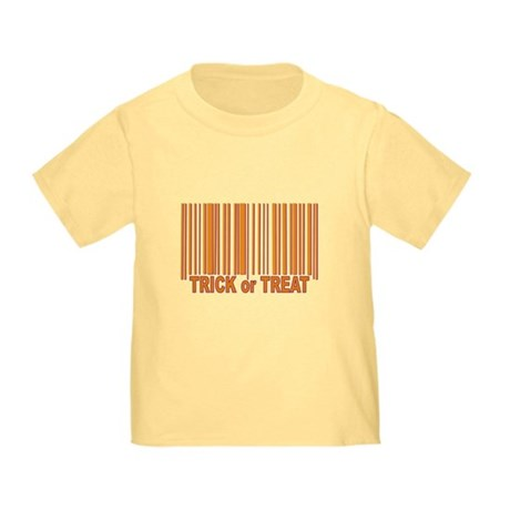 Barcode Trick or Treat Toddler T-Shirt