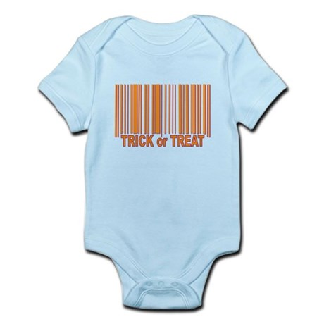 Barcode Trick or Treat Infant Bodysuit