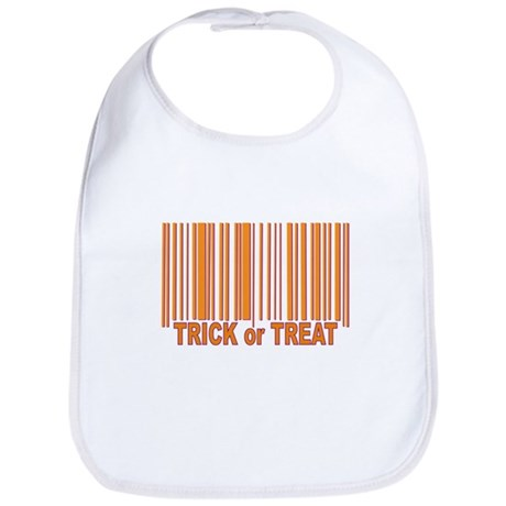 Barcode Trick or Treat Bib