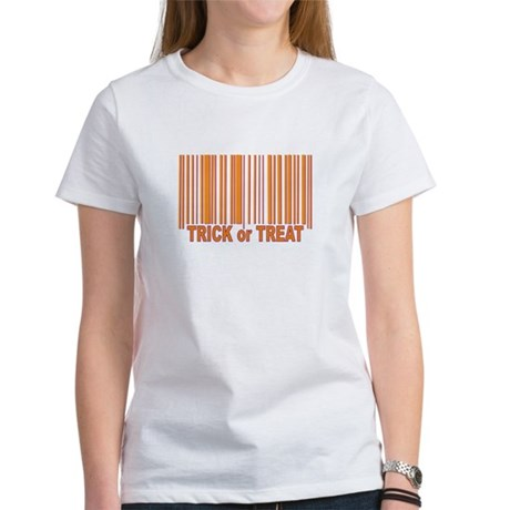 Barcode Trick or Treat Women's T-Shirt