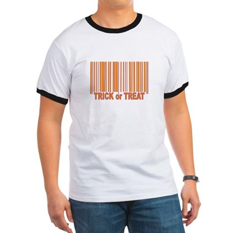 Barcode Trick or Treat Ringer T