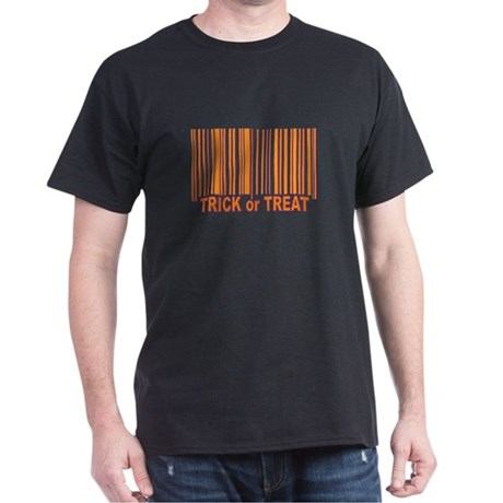Barcode Trick or Treat Dark T-Shirt