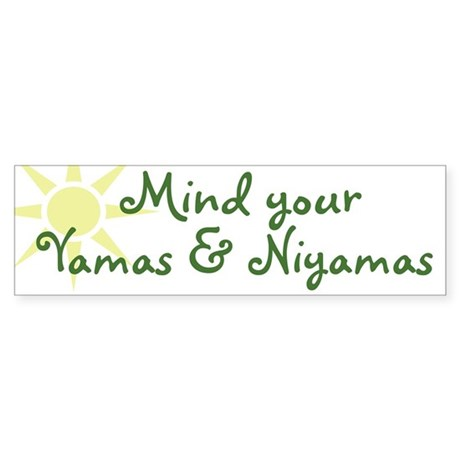 YogaMoxie Bumper Sticker
