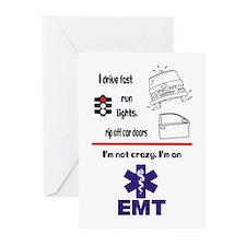 Not Crazy EMT Greeting Cards (Pk of 10)