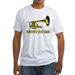 Trumpets Kick Brass Fitted T-Shirt