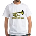Trumpets Kick Brass White T-Shirt