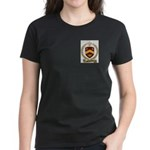BELHUMEUR Family Crest Women's Dark T-Shirt
